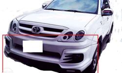 bodykit for fortuner 06-12 front and rear actual