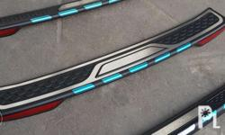 Brand new rear bumper sill plate protector with