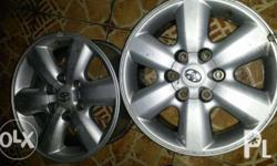 2nd gen fortuner mags 17 inch fits all suv pick up hi