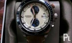 -Fossil men's watch -fixed price, brand new and