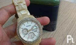 5mons used Authentic fossil watch 100% original With