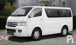 Foton View Transvan - SRP - P940,000 for only P90K DP