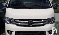 Foton View Transvan - SRP - P940,000 for only P129K DP