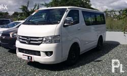 Foton View Transvan - SRP - P940,000 for only P139K DP
