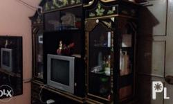 Divider + Cabinet for Sale! Glass door covered top and