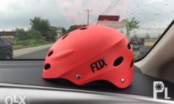 Fox Bike Helmet (Red) -350 nalang po Roswheel Top Tube