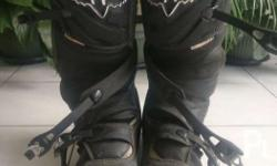 Orig Fox motocross boots Also for dual sport riders