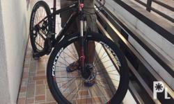FOXTER 27.5 MTB P8000 available in Black/red size: 17