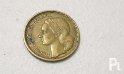 Up for sale is a France 20 Francs Coin 1950. Circulated
