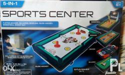 Brand new Franklin Sports 5 In 1 Sports Center Table
