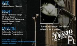 FREELANCE WEB AND GRAPHICS DESIGN SERVICES