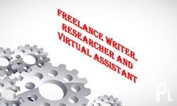 If you need a freelance writer, researcher and virtual