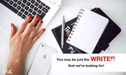 Our team is looking for freelance writers who can write