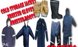 freezer jacket and pants / insulated coverall micro