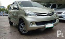 2012 Toyota Avanza 1.5 G AT 1st Owner Top of the line