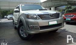 2013 Toyota Fortuner 2.5 4X2 DSL AT 1st Owner Mileage
