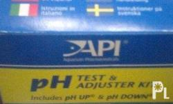 pH test and adjuster kit This includes pH test, pH up