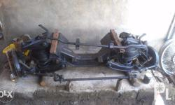 Toyota Hi-ace front suspension, disc brake, includes