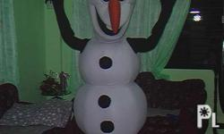 Olaf mascot for sale for your events ! brand new, Out