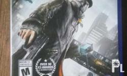 Watch dogs PS4 for sale - 700 for trade - Infamous
