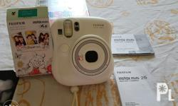 Instax mini 25 real image finder,0.37x with target
