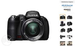 The Fujifilm HS20 comes with a 16MP EXR CMOS sensor and