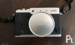 FUJIFILM x30 camera with free original leather case and