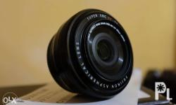 Fujinon 27mm f2.8 Pancake Lens With box, docs, filter,