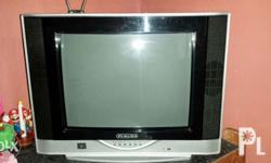 Selling our Fukuda TV. In good condition. With remote