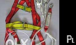 full body harness with lanyard available : small /big