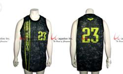 Wagadoo offers Sublimation print for Basketball! FREE
