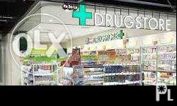 M/F Full Time Pharmacist 20-45 yrs old 45-60 yrs old