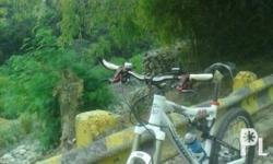 Top of the line mountain bike. Fox fork and shock