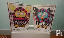 Furby Boom The Blue with Pink Furby Boom is opened but