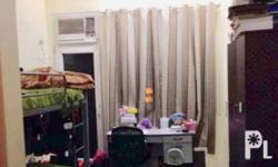 Fully furnished condo near UST With double deck bed