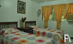 FURNISHED ROOM FOR RENT WITH 2 BEDS, INSIDE A GATED