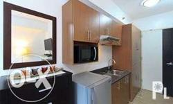 For rent is a furnished 18.42sq.m. studio type