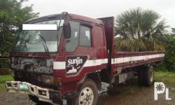 Kondisyon: Gamit na FUSO FIGHTER DROPSIDE FOR SALE!