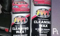 Waterless high performance wax Once a month application
