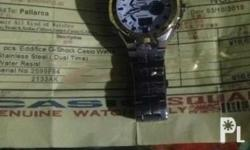 Original stainless steel (Dual Time) Water Resist