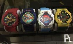 FOR SALE ONLY! (Authentic G-Shock) complete accesories
