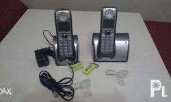 2 pieces GE cordless phone imported from USA 110v unit
