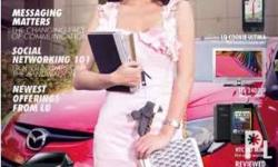 Gadgets magazine June 2010 cover: Sam Pinto P150 plus
