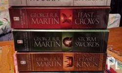 Game of Thrones Book 1-5. I just read the Book 1 but