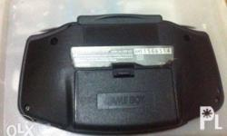 1 GBA Unit No Screen Burn Gba battery cover and