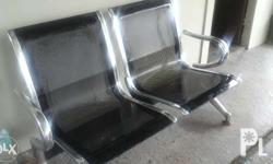 second hand gang chair two seats for sale