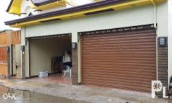 Automatic / Motor Operated Garage Door Full Galvalume
