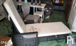 Gardenline Rest Chair Bed with cushion Imported From