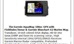"BRAND NEW GARMIN AQUAMAP 100XS 10.4"" Color SVGA"