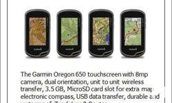 Brand New GARMIN Handheld GPS Map and Mounted